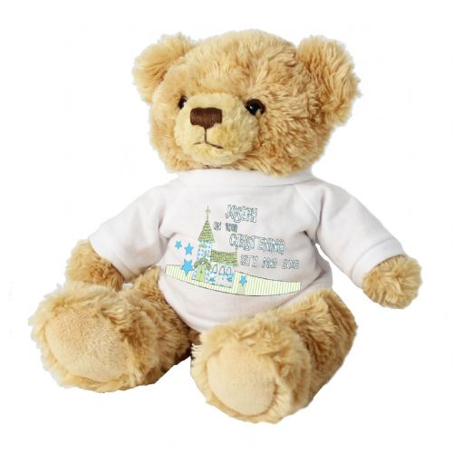 Personalised Church Message Bear with T-Shirt
